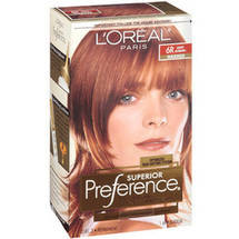 L'Oreal Paris Superior Preference Fade Defying Color and Shine System Light Auburn 6R