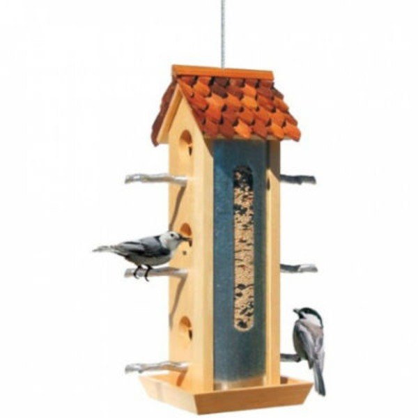 Perky Pet Tin Jay Twig Style Perches Bird Feeder