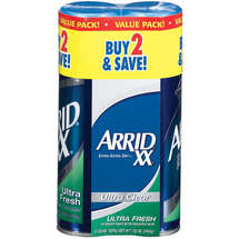 Arrid XX Ultra Clear Cans Antiperspirant/Deodorant