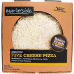 Marketside Medium Five Cheese Pizza