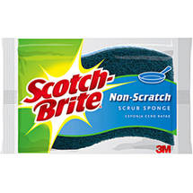 Scotch-Brite No Scratch Multi-Purpose Scrub Sponges Value Pack