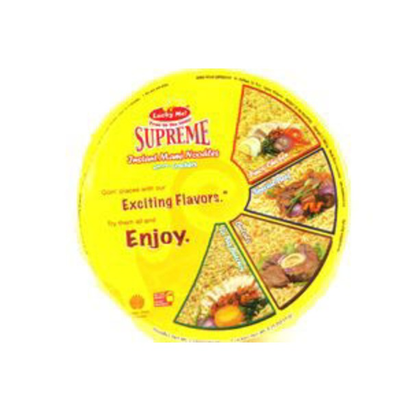 Lucky Me! Supreme Instant Pinoy Chicken Mami Noodle Bowl
