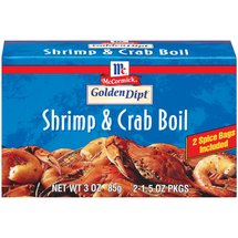 Golden Dipt 2 ct Shrimp & Crab Boil