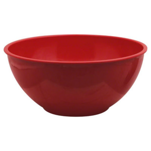 Cocinaware Red 5.3 Quart Melamine Mixing Bowl