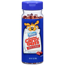 Canine Carry Outs Mini Beef Flavor Dog Snacks