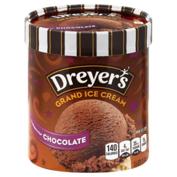 Dreyer's Chocolate Grand Ice Cream