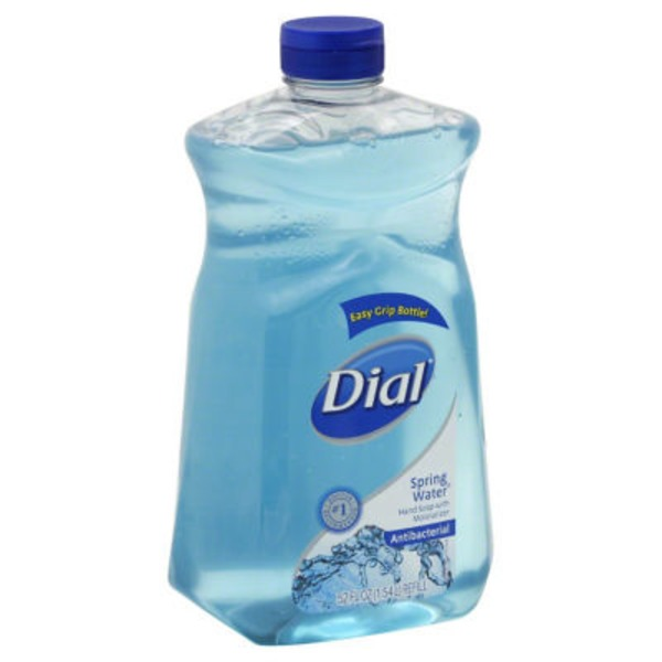 Dial Liquid Hand Soap Antibacterial Spring Water with Moisterizer Hand Soap