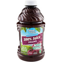 Great Value 100% Prune Juice