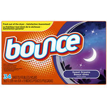 Bounce Sweet Dreams Fabric Softener Dryer Sheets
