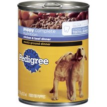 Pedigree Chicken & Beef Traditional Ground Dinner For Puppies