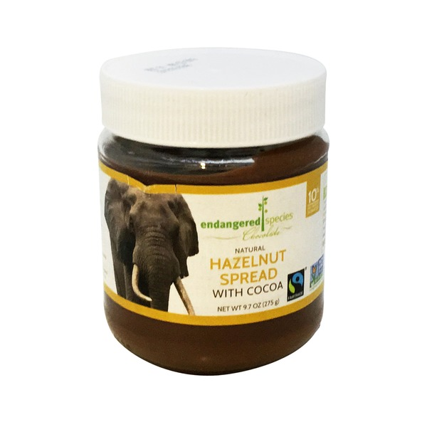 Endangered Species Hazelnut Spread with Cocoa