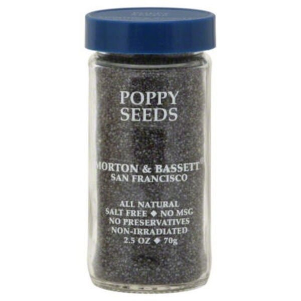 Morton & Bassett Spices Poppy Seeds