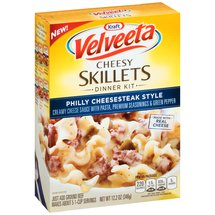 Kraft Velveeta Cheesy Skillets Philly Cheesesteak Style Dinner Kit