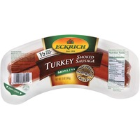 Eckrich Deli Turkey Skinless Smoked Sausage