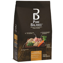 Pure Balance Dog Food Chicken & Brown Rice Recipe
