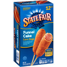 State Fair Funnel Cake Corn Dogs