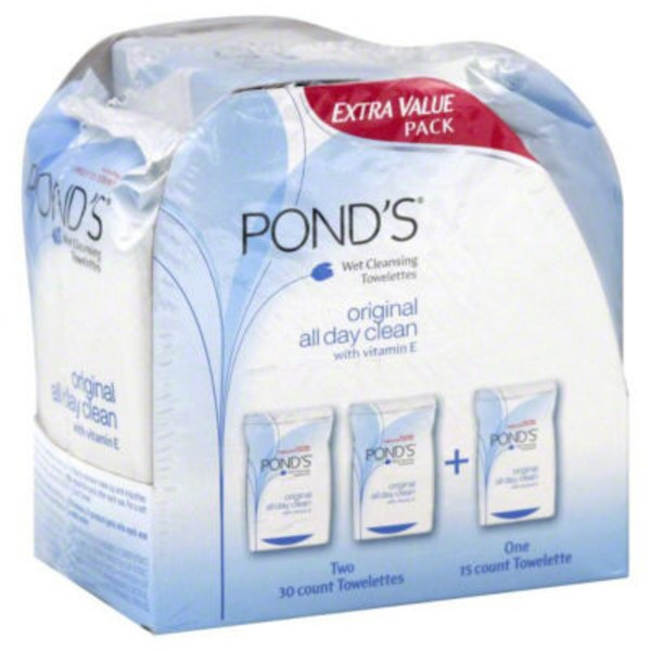 Pond's Original Fresh Moisture Clean Towelettes