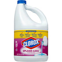 Clorox Splash-less Scented Bleach Concentrated Fresh Meadow 116 Fluid Ounces