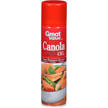 Great Value Canola Oil Cooking Spray
