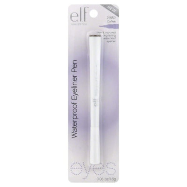 e.l.f. Triple Tip Waterproof Eyeliner Pen - Coffee