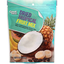 Great Value Dried Tropical Fruit Mix