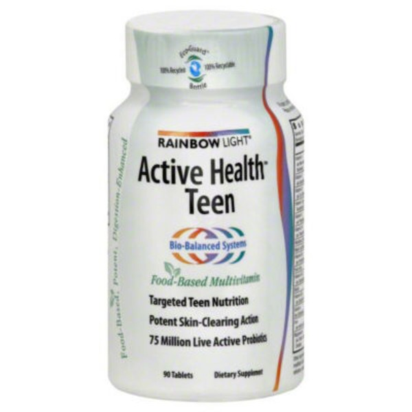 Rainbow Light Active Health Teen Tablets - 90 CT