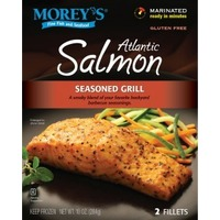 Morey's Atlantic Salmon Seasoned Grill Fillets - 2 CT