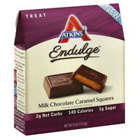 Atkins Endulge Milk Chocolate Caramel Candy Squares