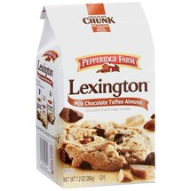 Pepperidge Farm Lexington Milk Chocolate Toffee Almond Cookies