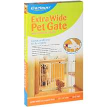 Carlson Pet Products Extra Wide Pet with Small Pet Door Gate
