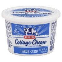 H-E-B Large Curd Cottage Cheese