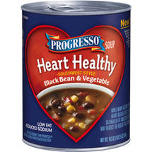 Progresso Heart Healthy Southwest Style Black Bean & Vegetable Soup