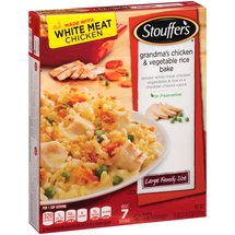 Stouffer's Large Family Size Grandma's Chicken & Vegetable Rice Bake