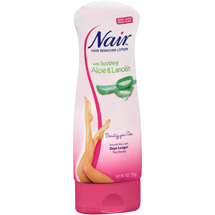 Nair Hair Remover Lotion with Aloe & Lanolin