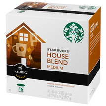 Starbucks K-Cup House Blend Coffee