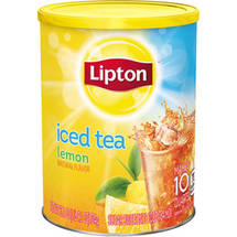 Lipton Lemon Sweetened With Sugar Iced Tea Mix