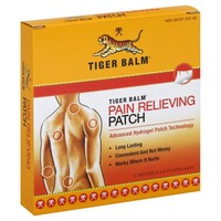 Tiger Balm Pain Relieving Patch - 5 CT