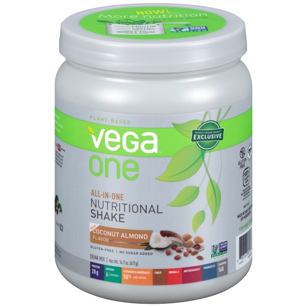 Vega One Coconut Almond Nutritional Shake Drink Mix