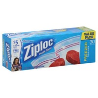 Ziploc Double Zipper Gallon Storage Bags