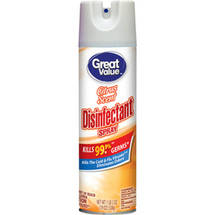 Great Value Citrus Scent Disinfectant Spray