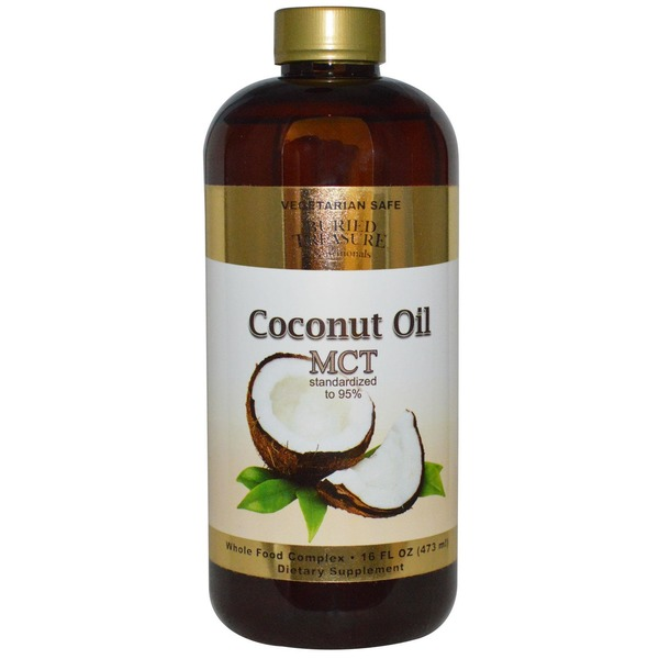 Buried Treasure Coconut MCT Oil