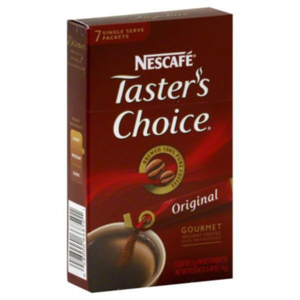 Nescafe Taster's Choice Taster's Choice House Blend Instant Coffee Sticks
