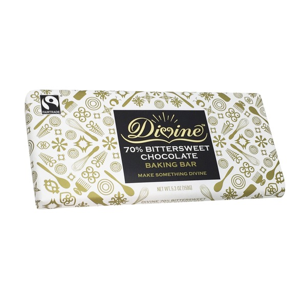 Divine 70% Bittersweet Chocolate Baking Bar
