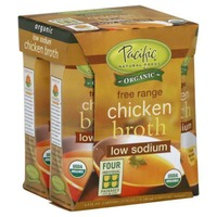 Pacific Organic Low Sodium Free Range Chicken Broth