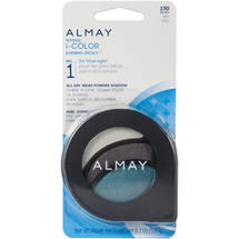 Almay Intense I-Color Evening Smoky All Day Wear Powder Eye Shadow For Blue Eyes
