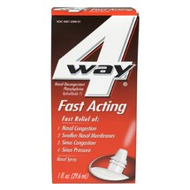 4 Way Fast Acting Nasal Spray