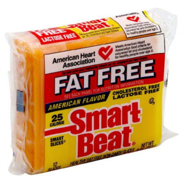Smart Beat Fat Free Sliced Cheese