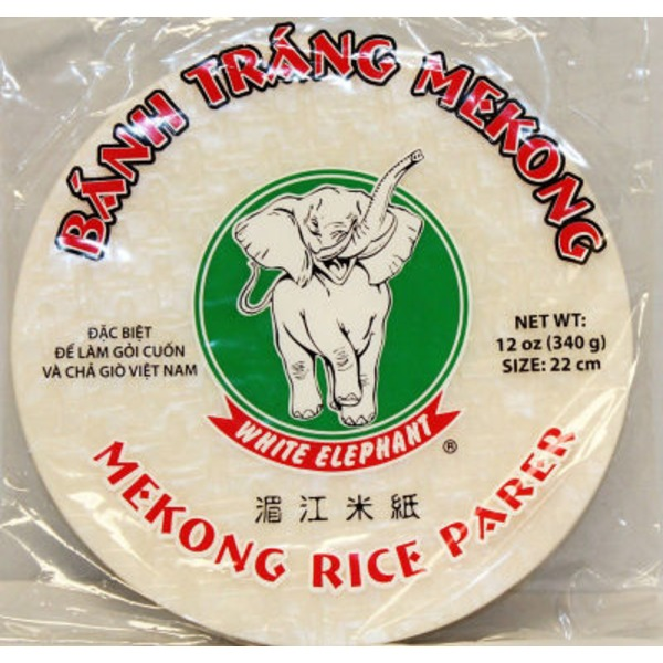 White Elephant Mekong Rice Paper