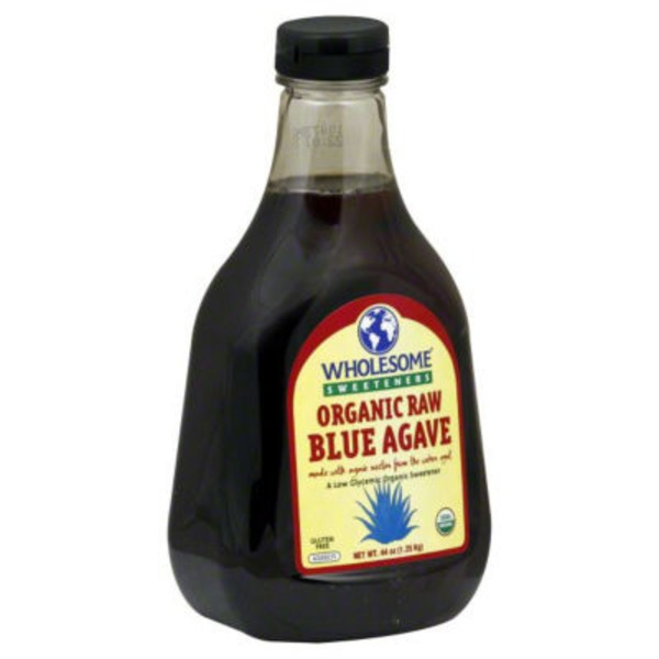Wholesome Sweeteners Organic Raw Blue Agave Sweetener