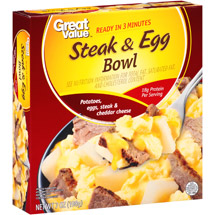 Great Value Steak & Egg Bowl